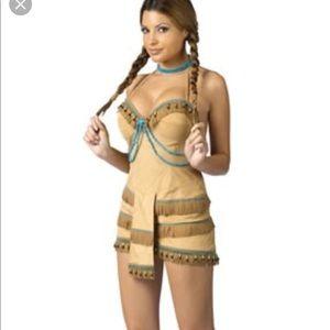 POCAHONTAS sexy native american indian costume